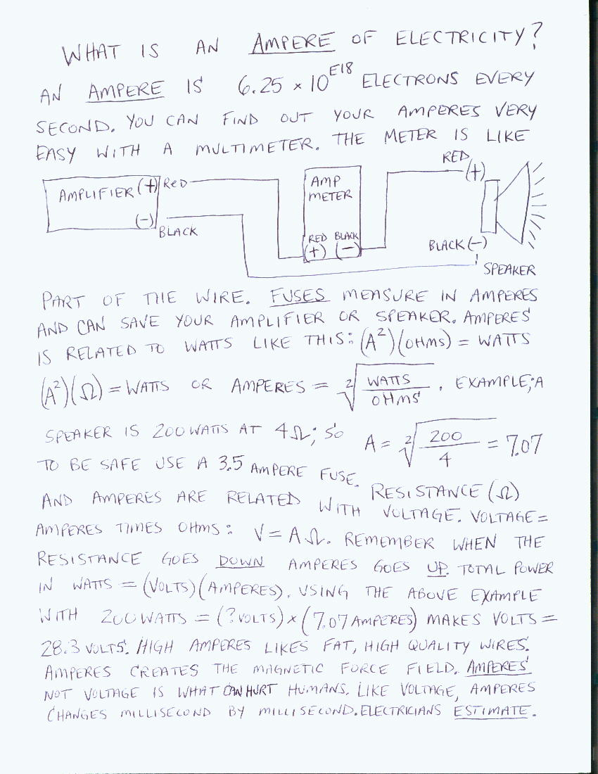 Line Array Speaker Wiring Diagram 3play The Frequency Sweep Starting From A Low Pitchsay 15 Or 20 Hertz To Higher Pitch100 Slowly At Volume That Makes Ampere Meter